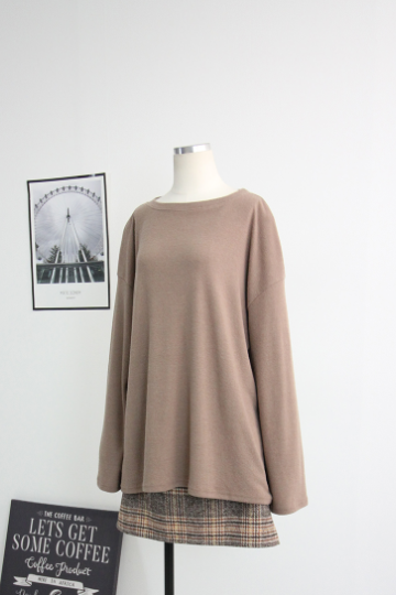 베이직 무지 라운드넥 티셔츠 BM16