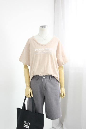 파리스 반팔 티셔츠 GD1301