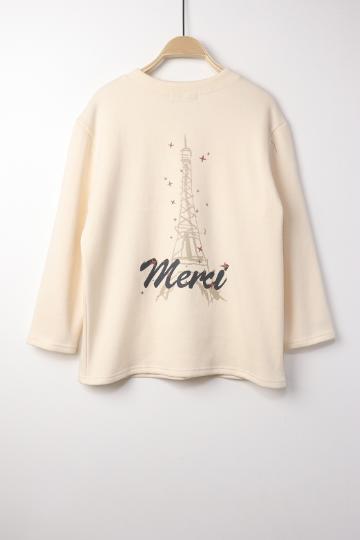 에펠 기모 티셔츠 LV1351