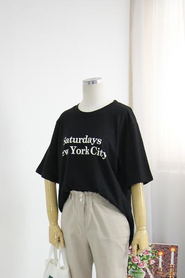 샌드뉴욕 반팔 티셔츠 LV1362