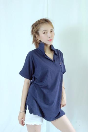 베이직 카라 반팔 티셔츠 MN1269