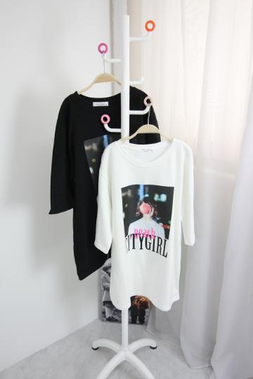 피치시티걸 티셔츠 MSM1821
