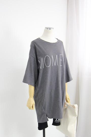 모먼트 라운드넥 티셔츠 NBN1570