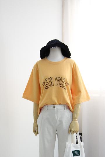 캐주얼 뉴욕 반팔 티셔츠 OCH03