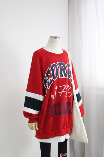 아틀란타 레이어드 맨투맨 티셔츠 PS71