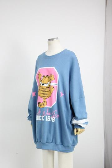 루카 루즈핏 맨투맨 티셔츠 PS80