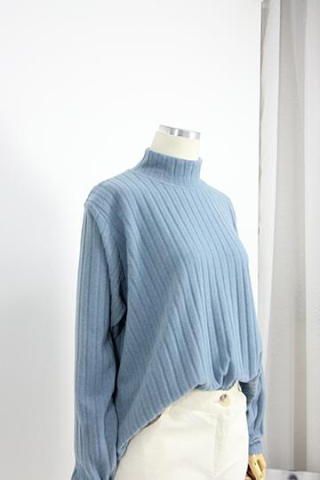 하이프 기모 반폴라 티셔츠 SF905