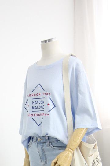 [교환반품불가] 하이든 프린팅 반팔 티셔츠 STM1498