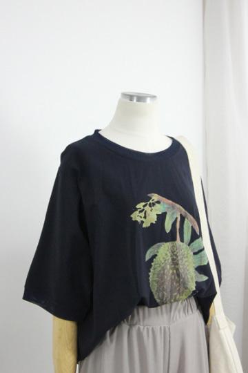 프루츠 라운드넥 반팔 티셔츠 STM1510