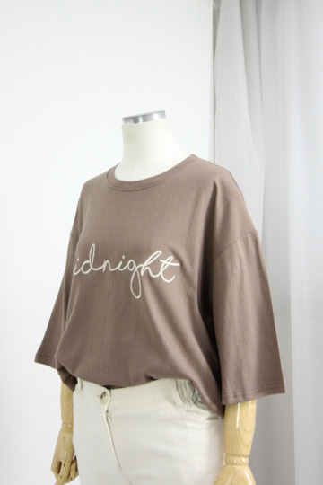 미드나잇 반팔 티셔츠 WHB339